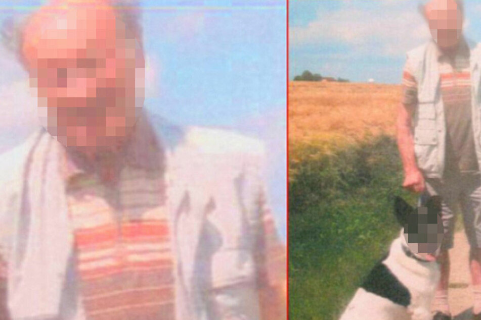 Jürgen Sch. (80) kehrte von einem Spaziergang mit Hund nicht mehr zurück.