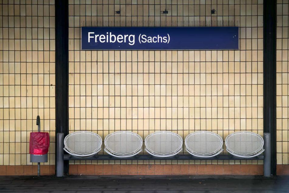 Eine junge Frau wurde am Bahnhof Freiberg attackiert. (Symbolbild)