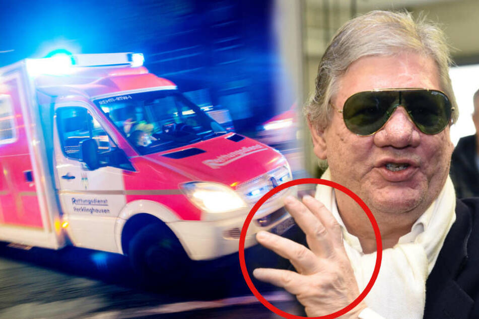 """""""Großstadtrevier""""-Darsteller rammt sich Messer in die Hand"""