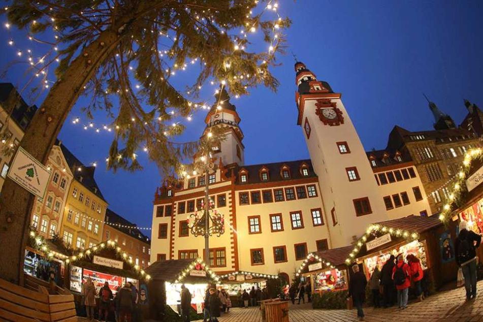 Der Chemnitzer Weihnachtsmarkt hat gute Titelchancen.