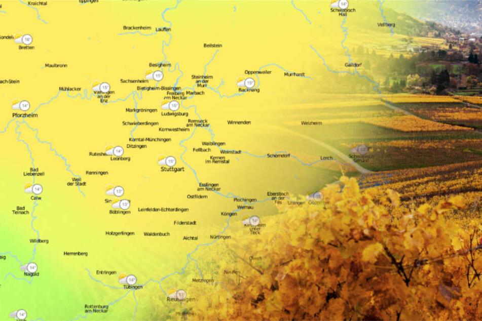 """In Baden-Württemberg sind diese Woche 15 bis 20 Grad drin. Dank Hoch """"Tanja""""."""