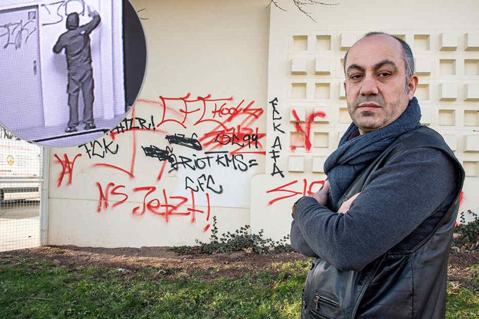 Kameras hielten alles fest: Nazi-Hetze an kurdische Bäckerei gesprüht