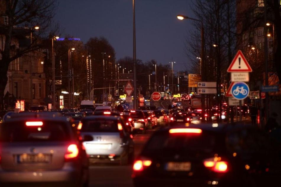 Frust bei Autofahrern: Innenminister-Konferenz sorgt für Chaos in Innenstadt