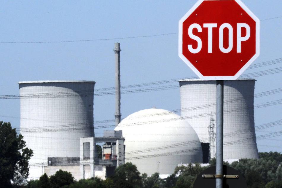 Das stillgelegte Atomkraftwerk im hessischen Biblis.