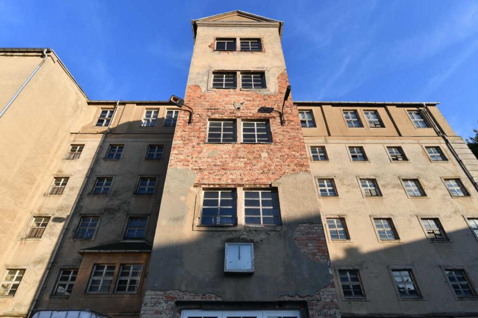 Fabrikgebäude einer Spinnerei in Frankenberg, das einst von den Nazis als Konzentrationslager genutzt wurde.