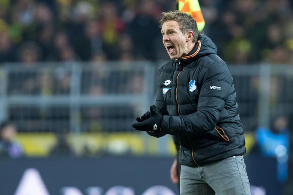 Hoffenheim Trainer Julian Nagelsmann hat ganz offenbar andere Ansichten, was das Liebesleben von Spieler Nadiem Amiri angeht.