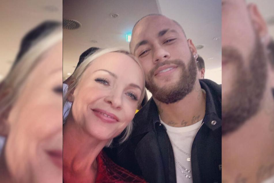 Am Valentinstag postete die 38-Jährige bereits ein gemeinsames Foto mit dem PSG-Star.