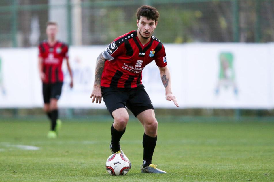 Er verlängerte seinen Vertrag über die laufende Saison hinaus: CFC-Stürmer Philipp Hosiner.