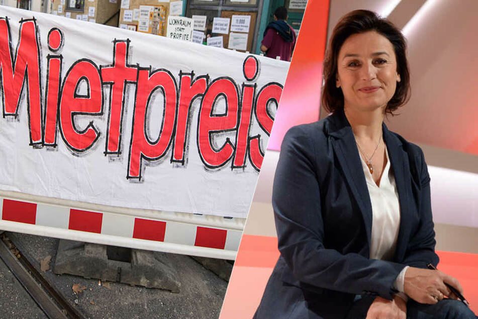Sandra Maischberger diskutiert über Deutschlands Miet-Explosion