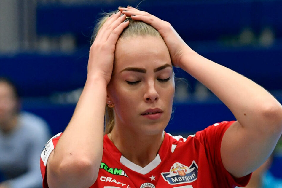 Niederlage im Ost-Klassiker - das war Laura de Zwart enttäuscht.