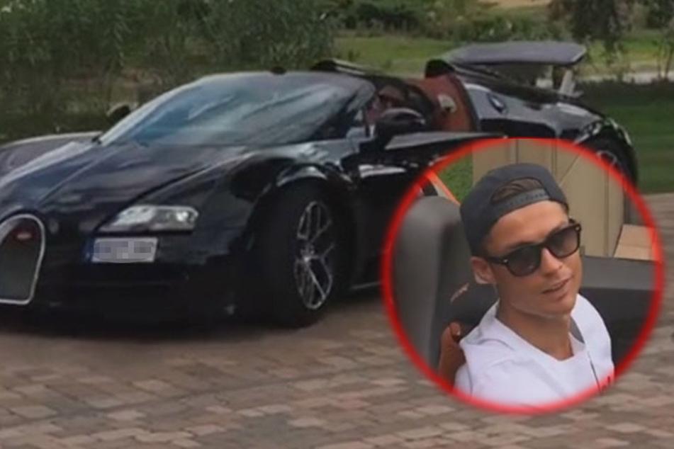 So sieht der neue Luxusschlitten von Ronaldo aus