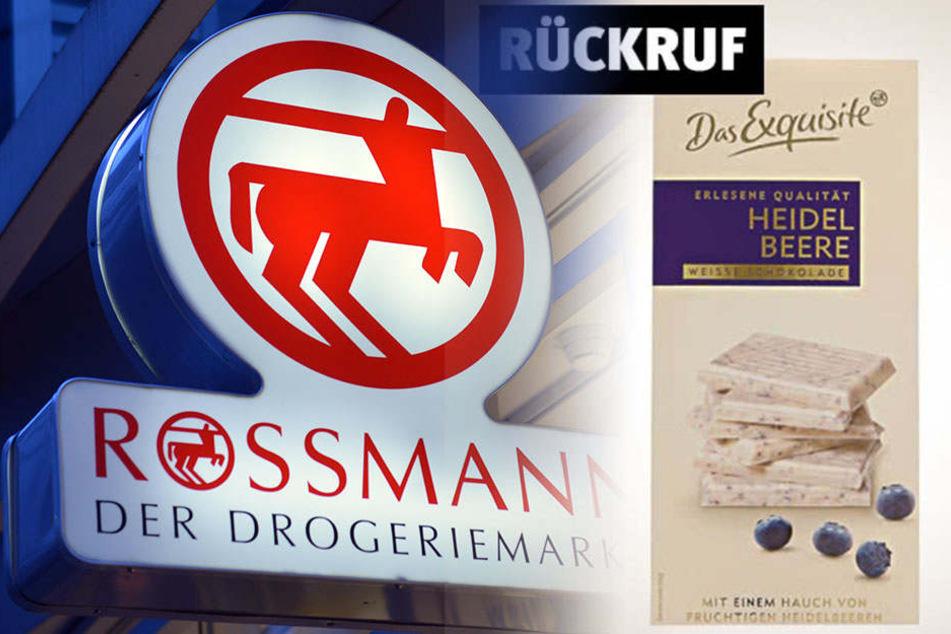 Salmonellen-Gefahr: Rossmann ruft weiße Schokolade zurück