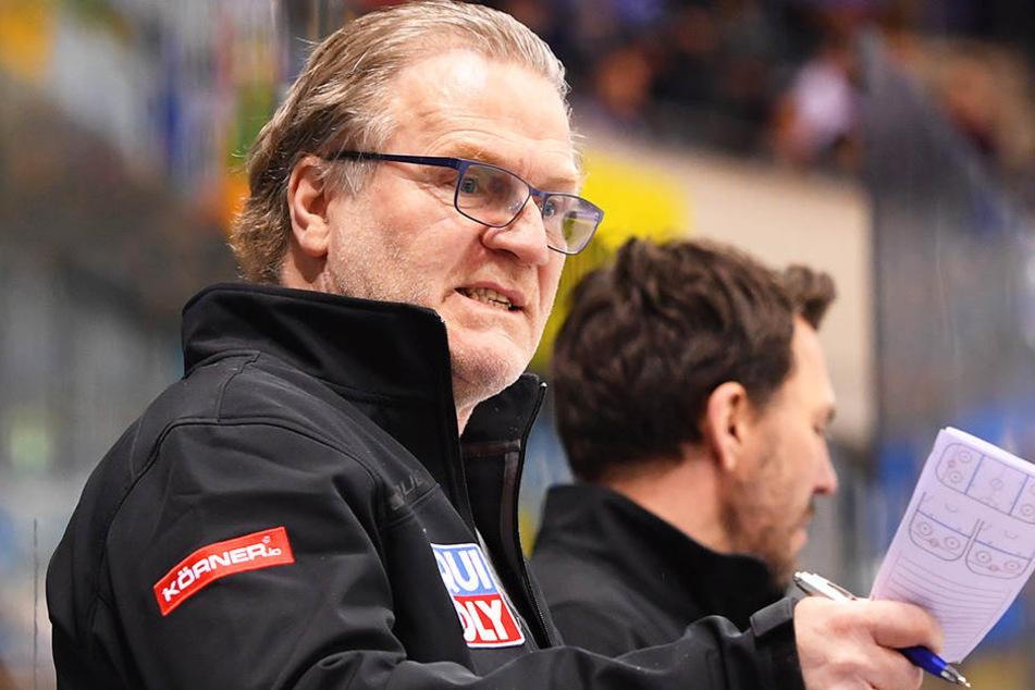 Franz Steer, Eislöwen-Coach.