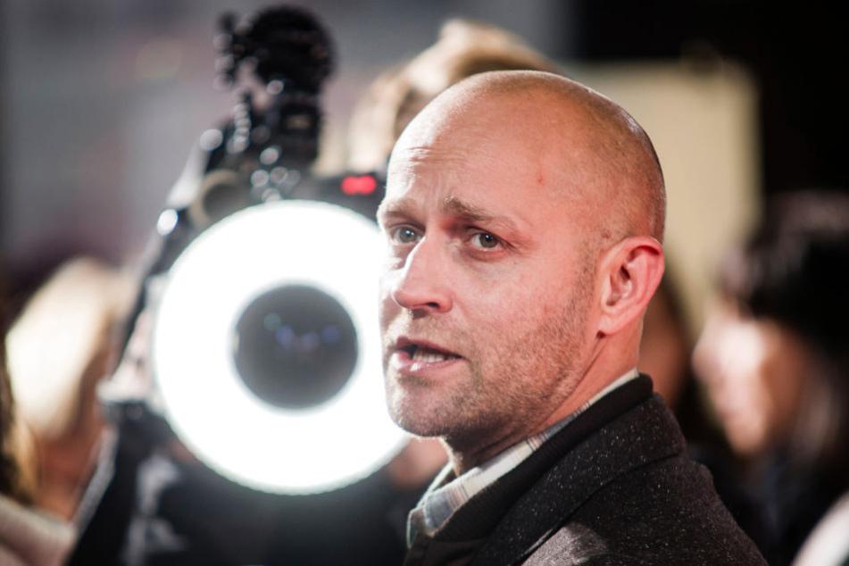Schauspieler Jürgen Vogel dreht für Vox.