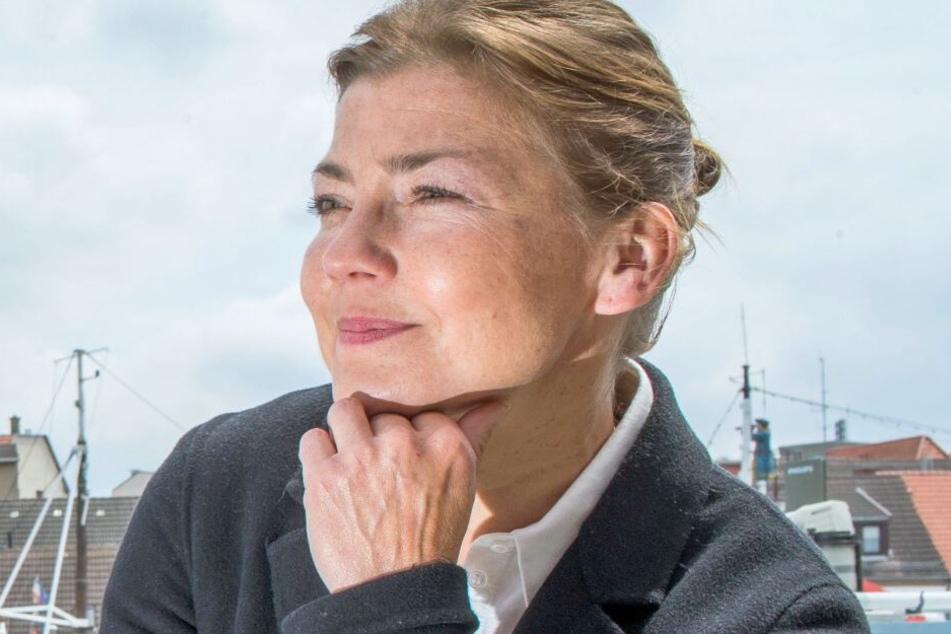 """Claudia Schmutzler ist die neue Hauptdarstellerin bei """"Rote Rosen""""."""