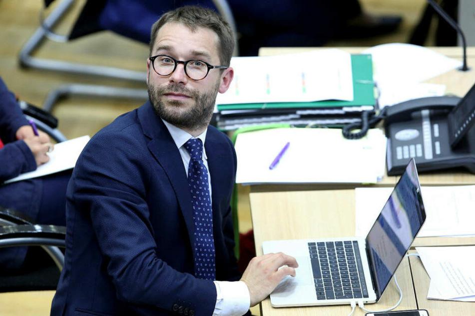 Sebastian Striegel, Innenexperte der Grünen im Landtag, sieht rechte Denkmodelle um Eisleben herum besonders präsent.