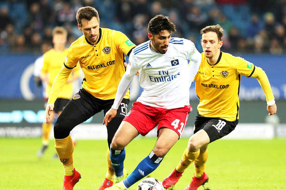"""Hsv Gegen Dynamo: Dynamo-Abwehrchef Gonther Fordert: """"Es Müssen Zeitnah"""