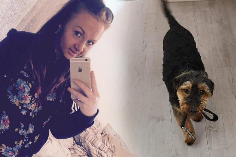 Sophie (21) musste ihren geliebten Hund Pippin tot auffinden.