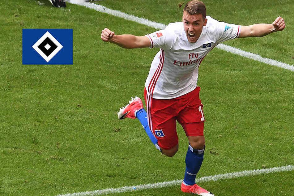 Hamburgs Luca Waldschmidt vor Wechsel zu diesem Bundesligisten!