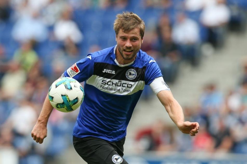 Kapitän Julian Börner setzt am Freitag alles daran zu gewinnen.