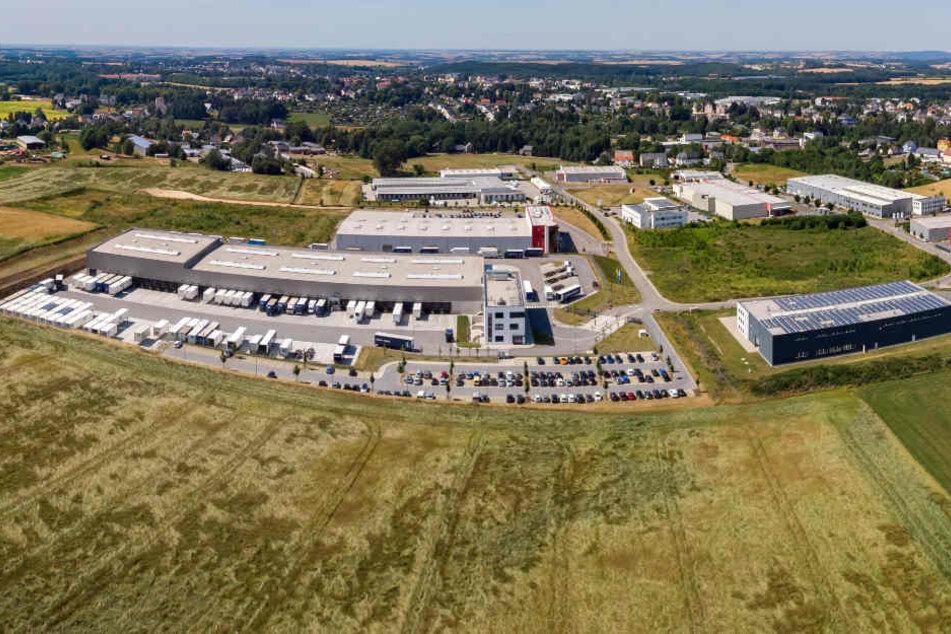 Millionenspritze für das Gewerbegebiet Süd in Limbach-Oberfrohna. Die Stadt investiert in die Erweiterung bis zu sieben Millionen Euro.