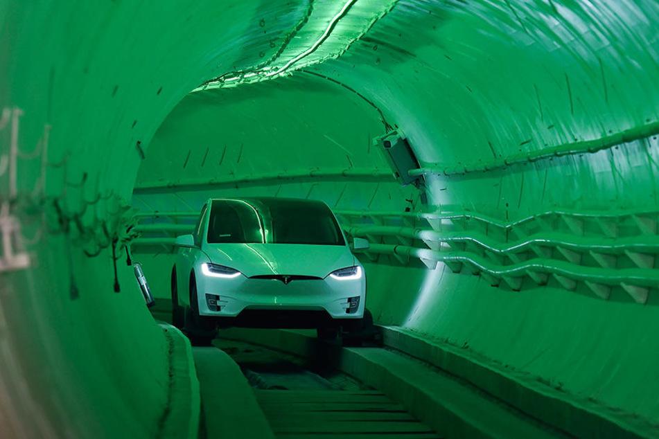 The Boring Company sieht in Tunneln ein zukunftsweisendes Verkehrskonzept.