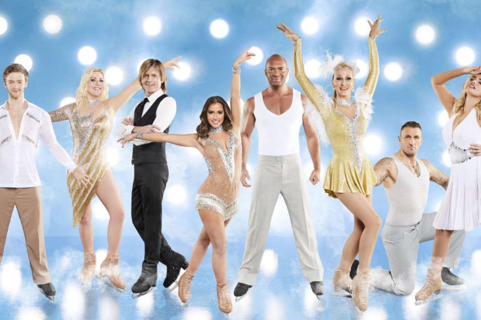 Welcher Prominente ueberzeugt auf Schlittschuhen mit Eleganz und Anmut? Welcher Promi verzaubert auf dem Eis Publikum und Jury?