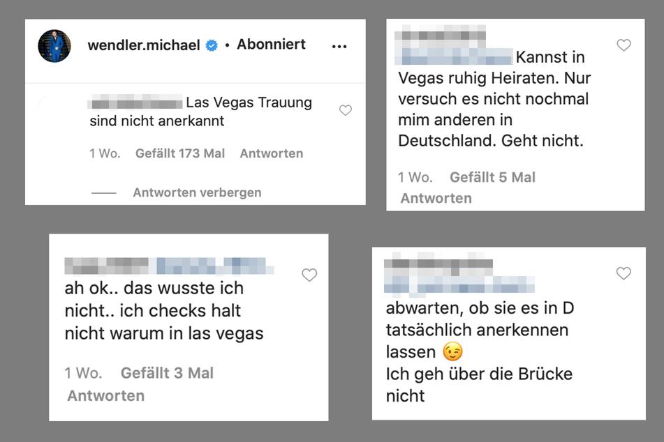 Fans des Wendlers glauben nicht an die Las-Vegas-Hochzeit.
