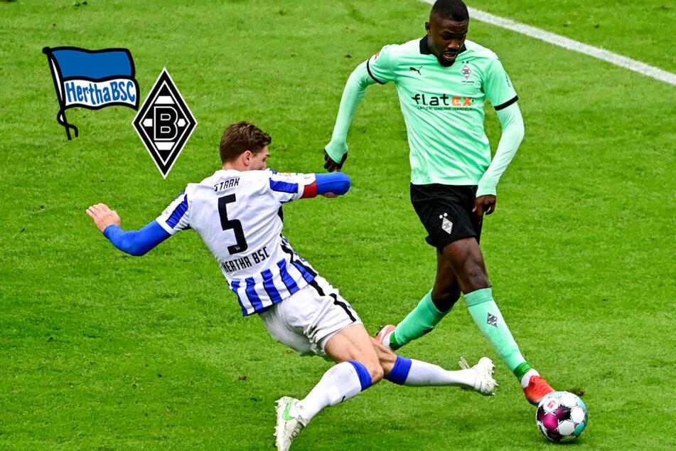 Hertha BSC kommt trotz Überzahl nicht über bitteres Remis gegen Gladbach hinaus!