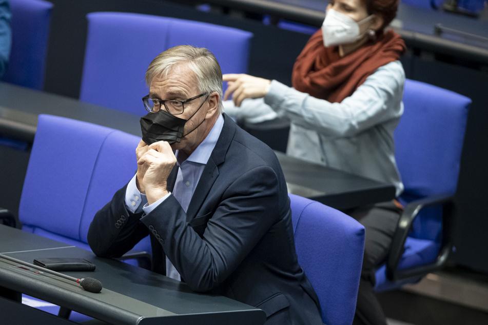 Linken-Fraktionsvorsitzende Dietmar Bartsch (62).