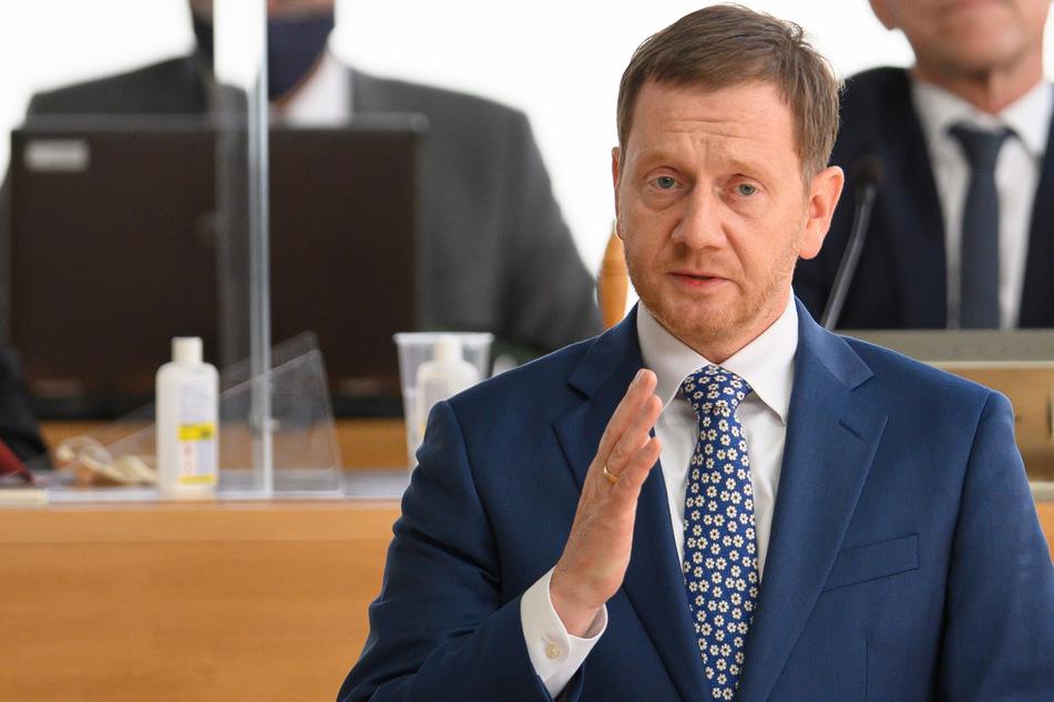 """Kretschmer spricht von dramatischer Corona-Lage in Sachsen: """"Zeit zu handeln"""""""