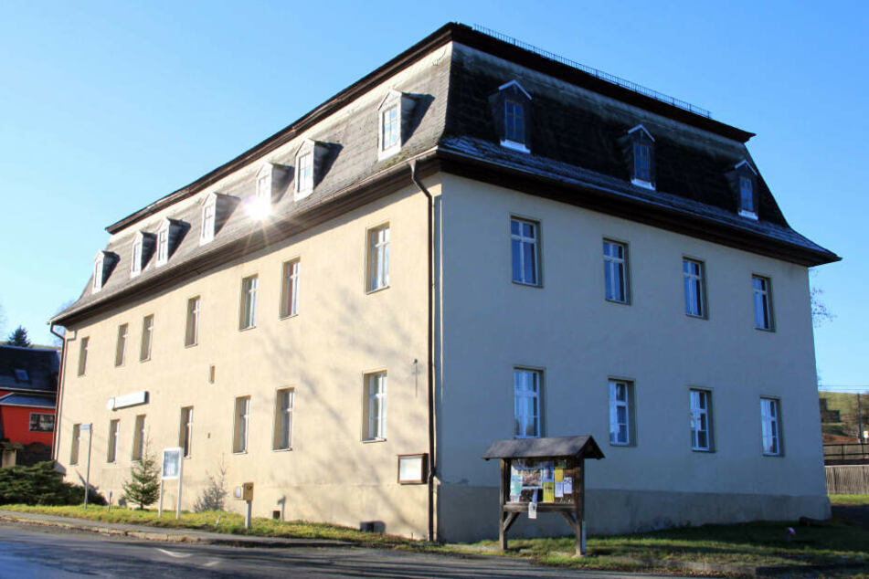 Das Rittergut Bösenbrunn, in der sich die Katzenkunst-Sammlung befindet.