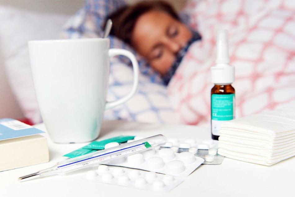 Noch immer ist die Grippe weiter auf dem Vormarsch. (Symbolbild)