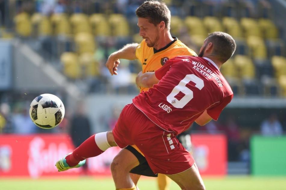 Andreas Lambertz soll vor dem ersten Tor mit der Hand am Ball gewesen sein. Egal, der Treffer zählte.