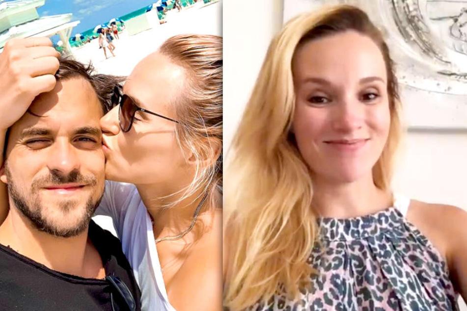 Anna Hofbauer (31) und Marc Barthel (29) werden Eltern.