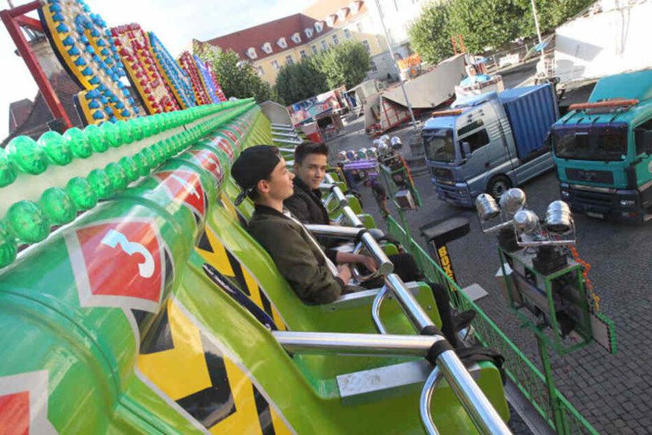 Leon Wagner und Robin Knezevic durften schon im Shaker fahren. Alle anderen erst ab Donnerstag.