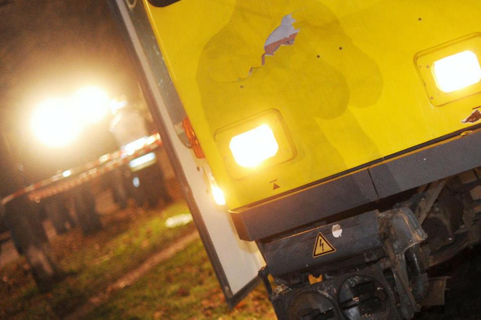 Wie groß die Schäden an Tram und Taxi sind, ist unklar. (Symbolbild)