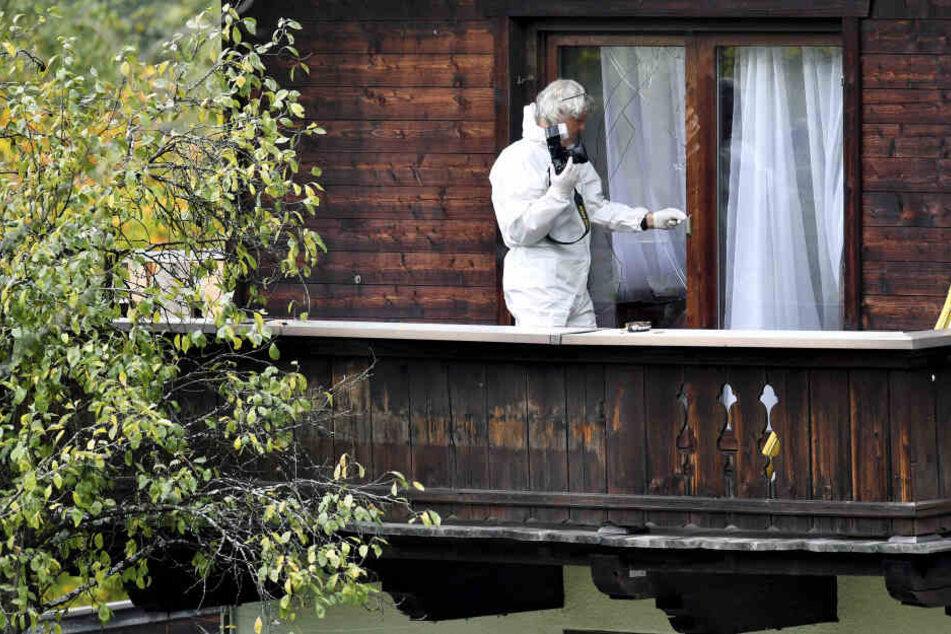 Fünf Menschen wurden in dem Haus in Kitzbühel getötet.