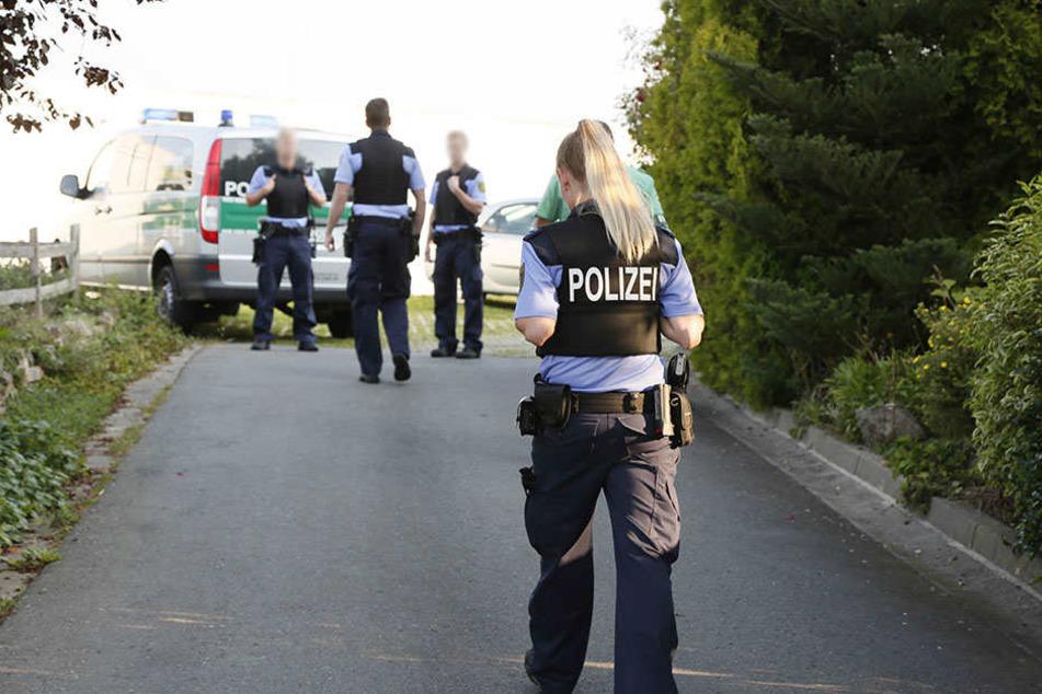 Die Tatortgruppe des Landeskriminalamtes Sachsen ist derzeit im Einsatz.