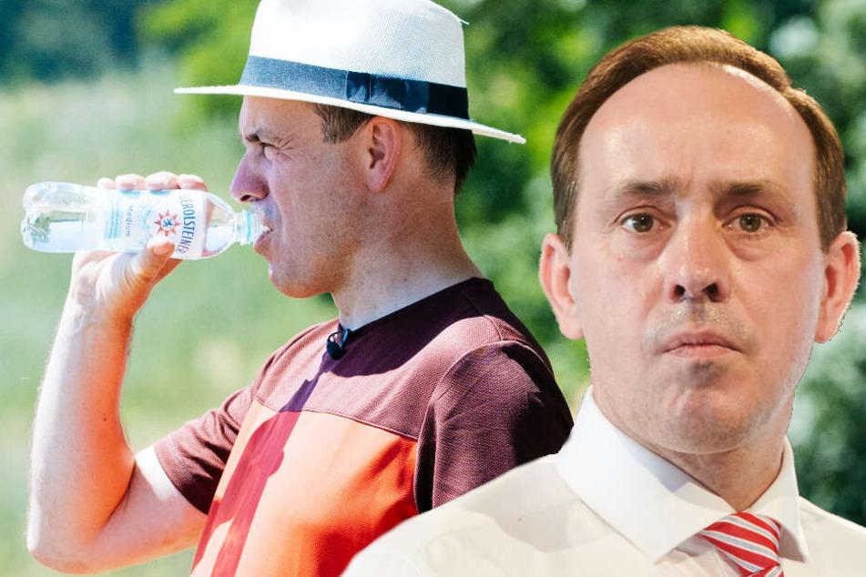CDU-Politiker Ingo Senftleben will am 01. September 2019 zum Brandenburgischen Ministerpräsident gewählt werden. (Bildmontage)