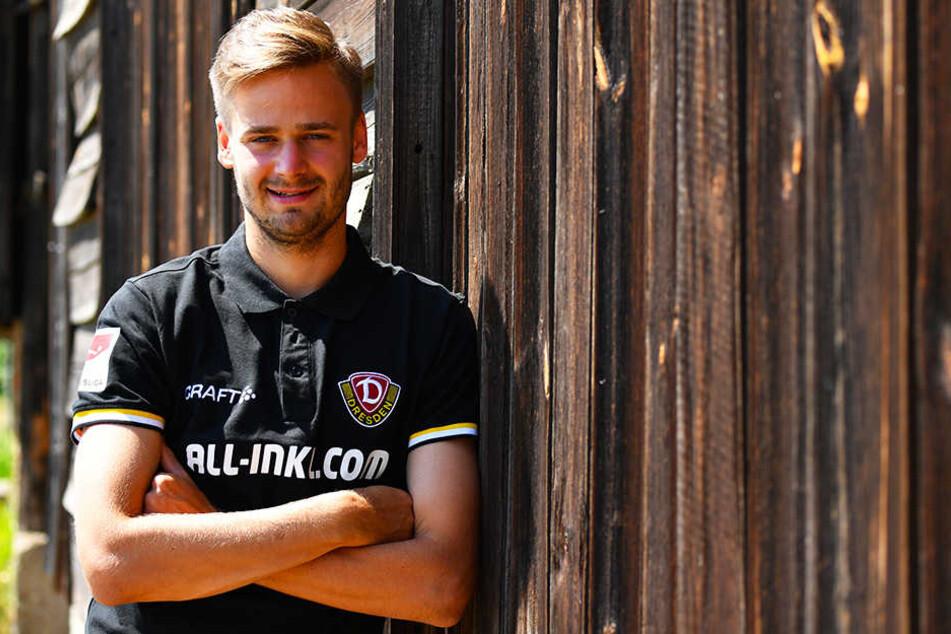 Dynamo Dresdens Offensivspieler Lucas Röser.