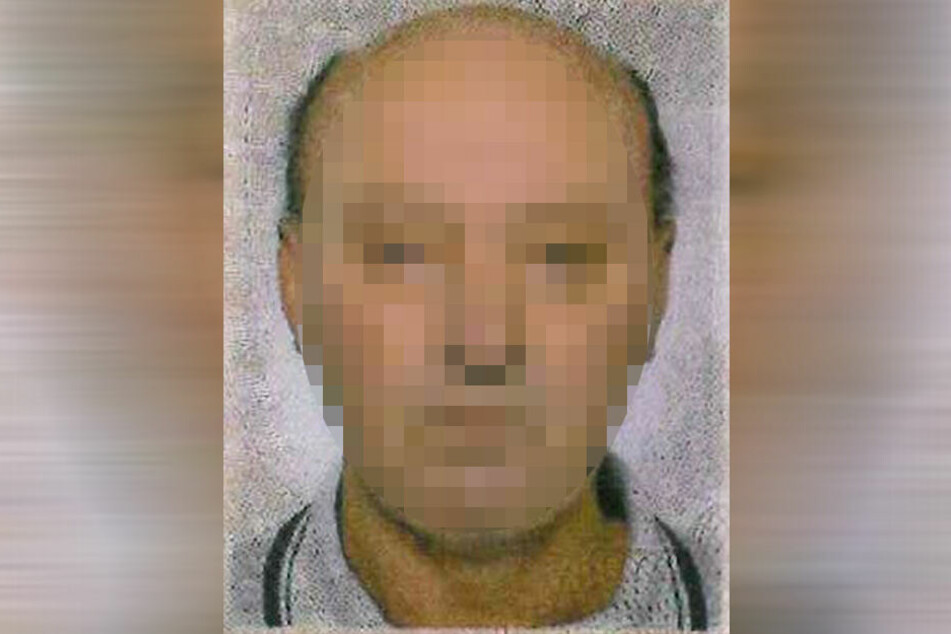 Mit diesem Bild suchte die Polizei nach Wolfgang W. (natürlich unverpixelt).