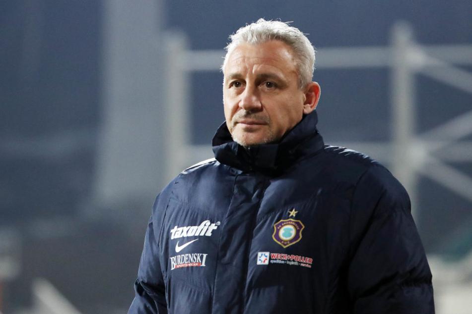 FCE-Trainer Pavel Dotchev macht seiner Mannschaft keinen Vorwurf.