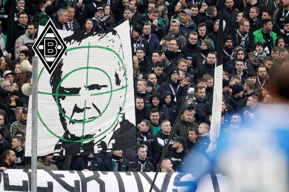 Im Fadenkreuz: Gladbach-Fans beleidigen Dietmar Hopp