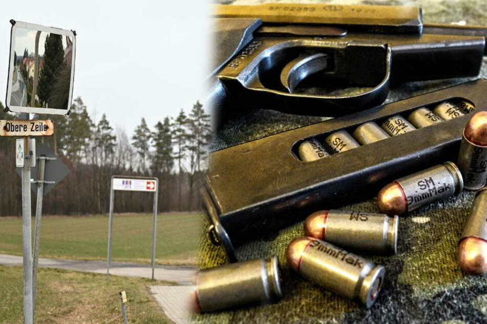 Spezialkräfte entwaffnen Mann mit Makarow-Pistole