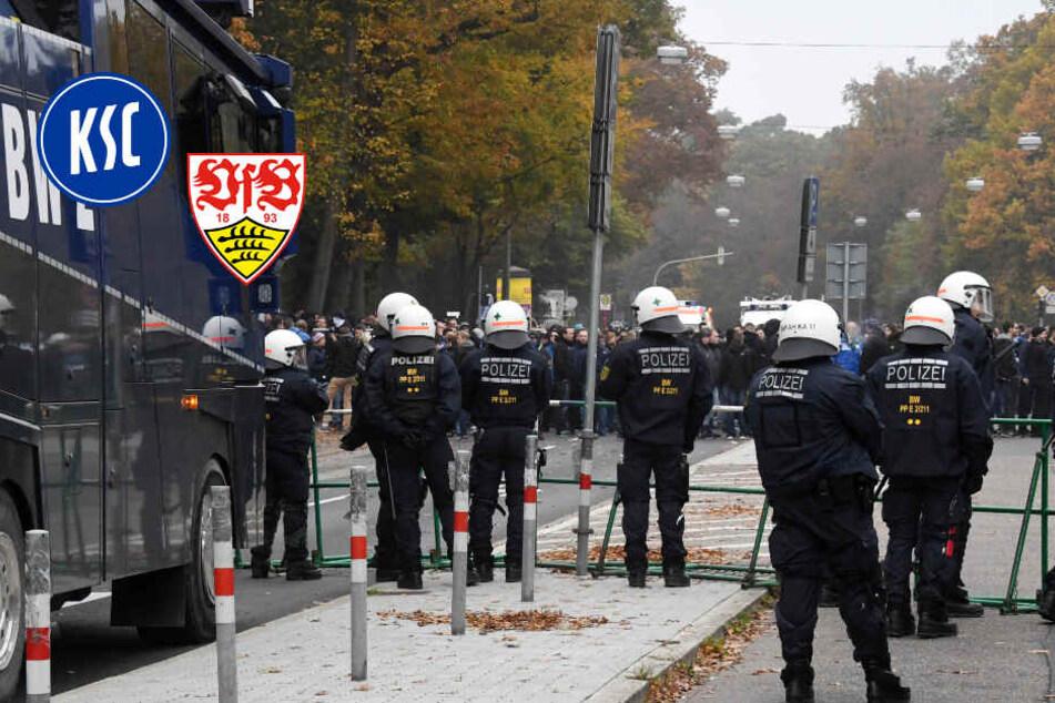 """VfB Stuttgart und Karlsruher SC im Derby: """"Wenn es zu Gewalt kommt..."""""""