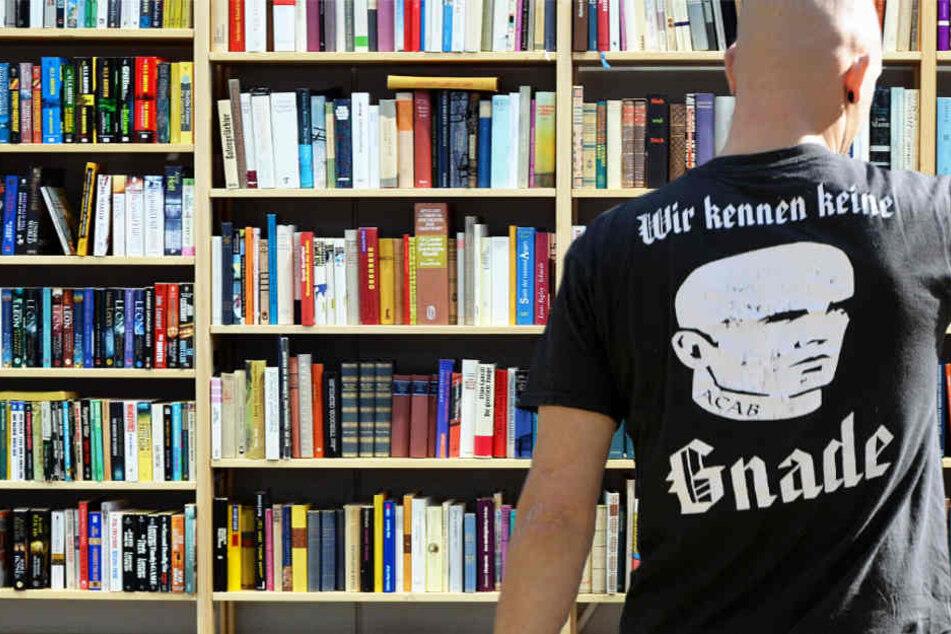 Rechtsextreme auf der Buchmesse in Frankfurt, für viele eine schreckliche Vorstellung (Symbolbild).