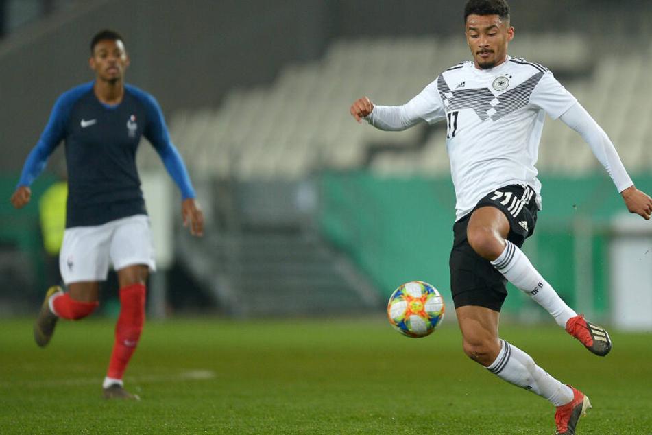 """Emmanuel Iyoha machte in dieser Saison auf sich aufmerksam, durfte sogar in der """"U21"""" spielen."""