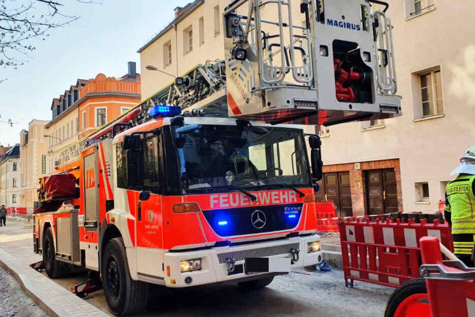 Die Feuerwehr musste am Samstagnachmittag in die Gießerstraße ausrücken.