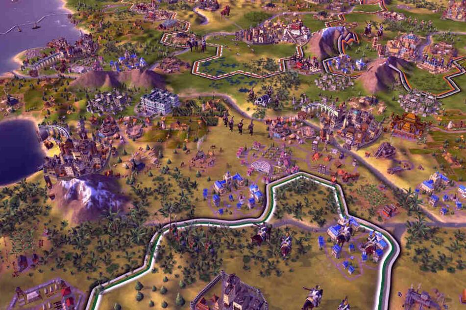 """""""Civilization VI"""" im Test: Endlich gibt es das Strategie-Spiel auch für Playstation und Xbox!"""